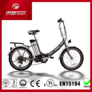 20′′ Fashion 20V 250W Folding Electric Pocket Bike with Ce Certification pictures & photos