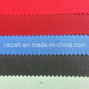 Thick Polyester Cotton Twill Solid Color Twill Fabric pictures & photos