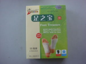 Detox Foot Pad (zu zhi bao) 20 Pads Per Box pictures & photos