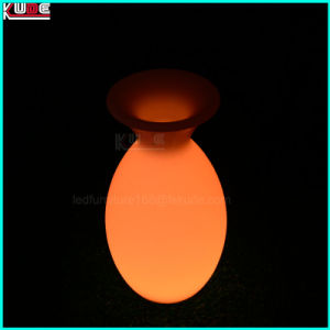Color Controllable Decorative Hanging Lamp RGB Vase with Lighting LED pictures & photos