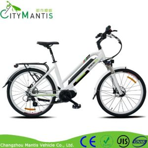 Inner Battery 250W City Electric Bike with 8fun Middle Drive Motor pictures & photos
