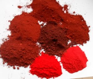Matte Finish Pigment Yellow or Red Iron Oxide in Lipsticks pictures & photos