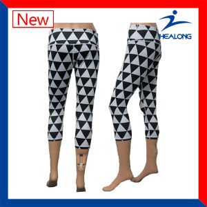 Colorful Personlized Sublimation Stretch Women Leggings pictures & photos