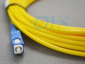 Sc/Upc Simplex Singlemode Fiber Optic Patch Cord pictures & photos
