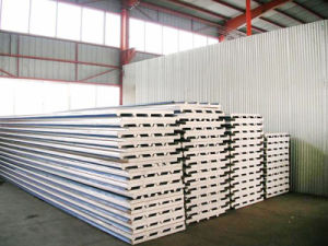 EPS, PU, Rock Wool Sandwich Panel (XGZ-65) pictures & photos