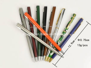 Super Slim Metal Promotional Ball Pen for Adversting pictures & photos