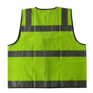 2016 High Quality Fashion Reflective Safety Vest pictures & photos
