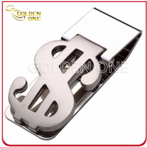 High Grade Stainless Steel Money Clip with Token pictures & photos