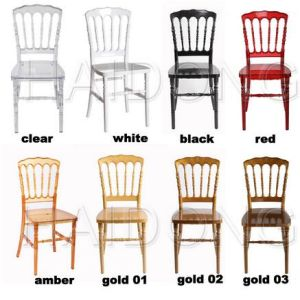 Clear Crystal Resin Napoleon Chairs pictures & photos