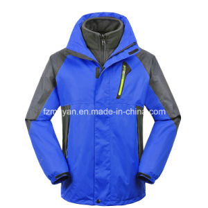 Jacket with a Triple Inner Jacket Fleece Jackets pictures & photos