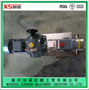Zb3a-8 1.5kw Stainless Steel Sanitary Tri-Lobe Rotor Pumps pictures & photos