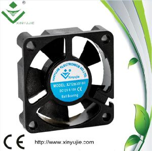 3510 12V 10000rpm Ball Bearing 30000 Hours Warranty Mini DC Cooling Fan pictures & photos