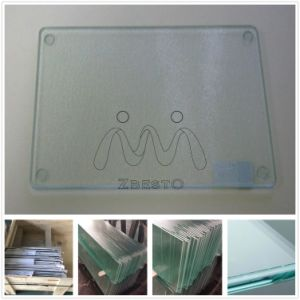 Round Square Rectangle Custom Made Clear Kitchen Glass Cutting Board