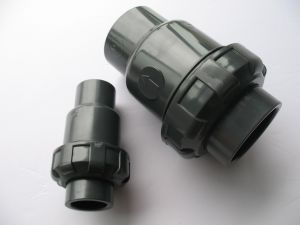"PVC Single Ball Check Valve/ UPVC Valve with Size of DN25 (1"")"
