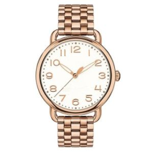 Ladies Bracelet Watch Rose Gold Plated pictures & photos