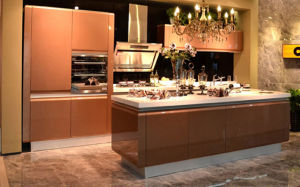 2017 Modern Rta Customized Lacquer Kitchen Cabinets (zz-057) pictures & photos