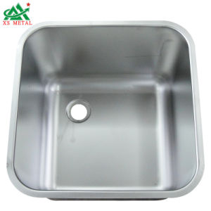One Bowl Stainless Steel Kitchen Sink (XS-SL4040)