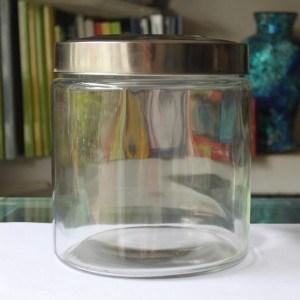 Classical Murano Glassware with Multicolor Glass Bottle