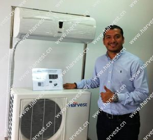 Solar-Mains Hybrid Solar Air Conditioner