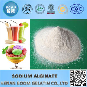 Food Grade Safe Sodium Alginate for Nutrition Enhancer pictures & photos