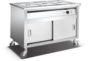 3-Pan Bain Marie Trolley (HBW-3) pictures & photos