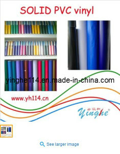 Solid PVC Vinyl, PVC Sticker, Color PVC, Sticker for Glass pictures & photos
