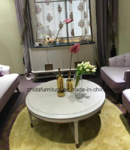 Luxury White Wooden Coffee Table End Table pictures & photos