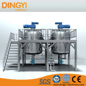 1000-5000L Cream Ointment Lotion Bottom Homogenizing Vacuum Emulsifying Mixer pictures & photos