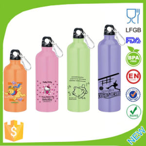 400ml-750ml Colorful Stainless Steel Sports Water Bottle pictures & photos