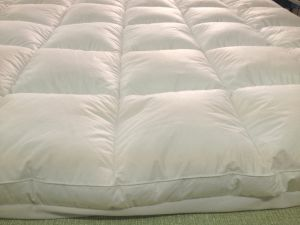 Mattress Pad with Fitted Skirt - Preshrunk Cotton Cover pictures & photos