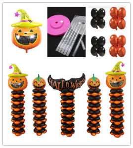 Halloween/Holiday/Wedding Decoration Stand Column and Plastic Base to Fix Pumpkin Balloon pictures & photos