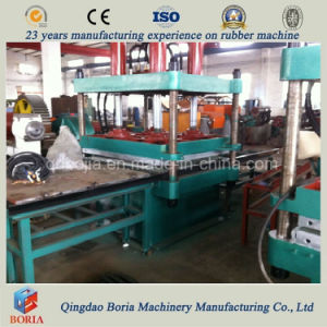 Single Daylight 4 Cavities Rubber Tile Making Machine pictures & photos