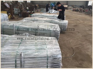 Frame System Scaffolding Parts Angel Cross Brace pictures & photos