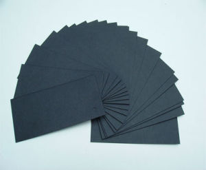 China Black Core Black Mat Board For Photo Frames Picture