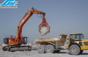 Excavator Grab for Stone (GHE-SG-002-A) pictures & photos
