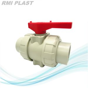 PVDF PP CPVC PVC Plastic Ball Valve pictures & photos