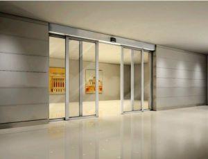 Customized Design Good Quality Professional Automatic Aluminium+Glass Sliding Doors pictures & photos