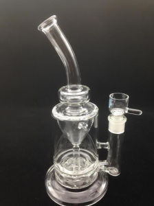 Bontek Glass Smoking Water Pipes with Water Recycler pictures & photos