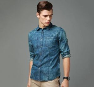 Customized Men′s Newly Slim Fit Branded Shirt