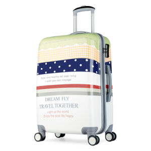 Aluminum Trolley Spinner Wheel Cheap ABS+PC Hard Shell Luggage pictures & photos
