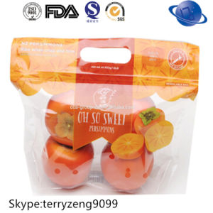 Plastic Zipper Fruit Packing Bag pictures & photos
