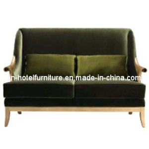 Wooden Fabric Hotel Sofa Set pictures & photos