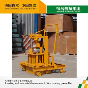Manual Press Brick Block Machine (QT40-3C DONGYUE) pictures & photos
