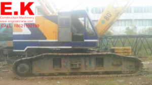 80ton Original Japanese Kobelco Crawler Crane Construction Machinery (7080) pictures & photos