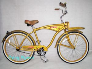 with Front Carrier Golded Beach Bicycle (FP-BCB-C013) pictures & photos