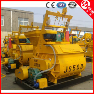CE ISO Certificate Js500 Electric Concrete Mixer Machine Price pictures & photos