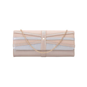 Champagne Contrast Colors Classic Clutch Bag (MBNO041139) pictures & photos
