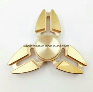 New Aluminium Tri Metal Hand Spinner Fidget Finger Toy pictures & photos