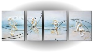 Home Decoration Oil Painting of Abstract-4 pictures & photos