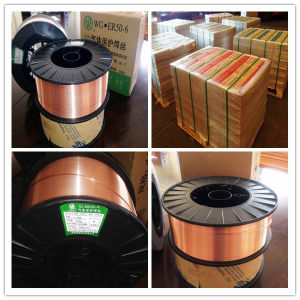 Supply High Quality MIG Material Er70s-6 Welding Wire pictures & photos